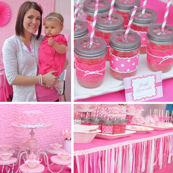 themed birthday party ideas for baby girl ; prettypinpinkcollage6