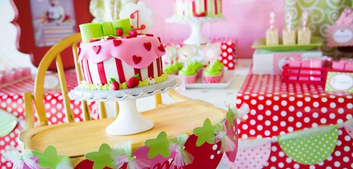 themed birthday party ideas for baby girl ; shortcakeparty