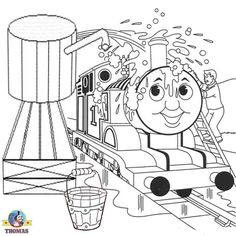 thomas the tank engine coloring pages birthday ; 16c8cae40dc72e0c6a7cecdef093d3b7--coloring-for-kids-thomas-the-train