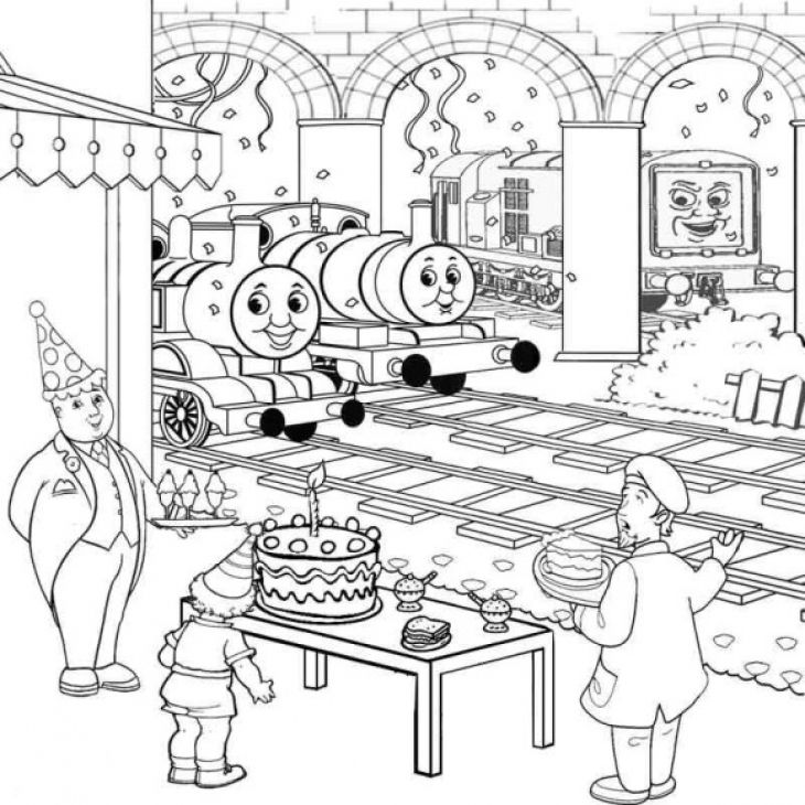thomas the tank engine coloring pages birthday ; 4aafb2ae628ff38e08ee7e06c393d823