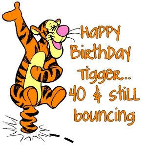tigger happy birthday ; Tigger