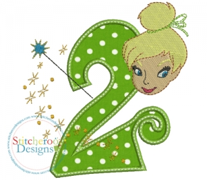 tinkerbell clipart birthday ; tink2