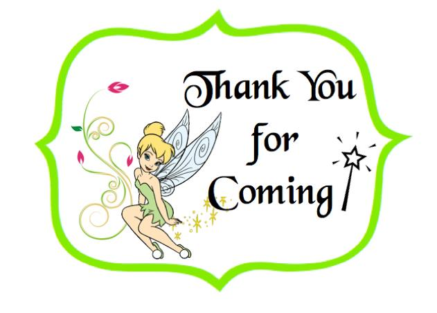 tinkerbell clipart birthday ; xtinkerbell-thank-you-labels