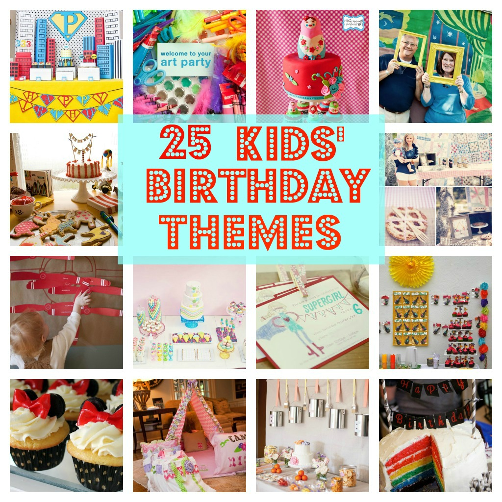 toddler birthday party themes ; c07526dad8c587576b8acb226ac0a93a