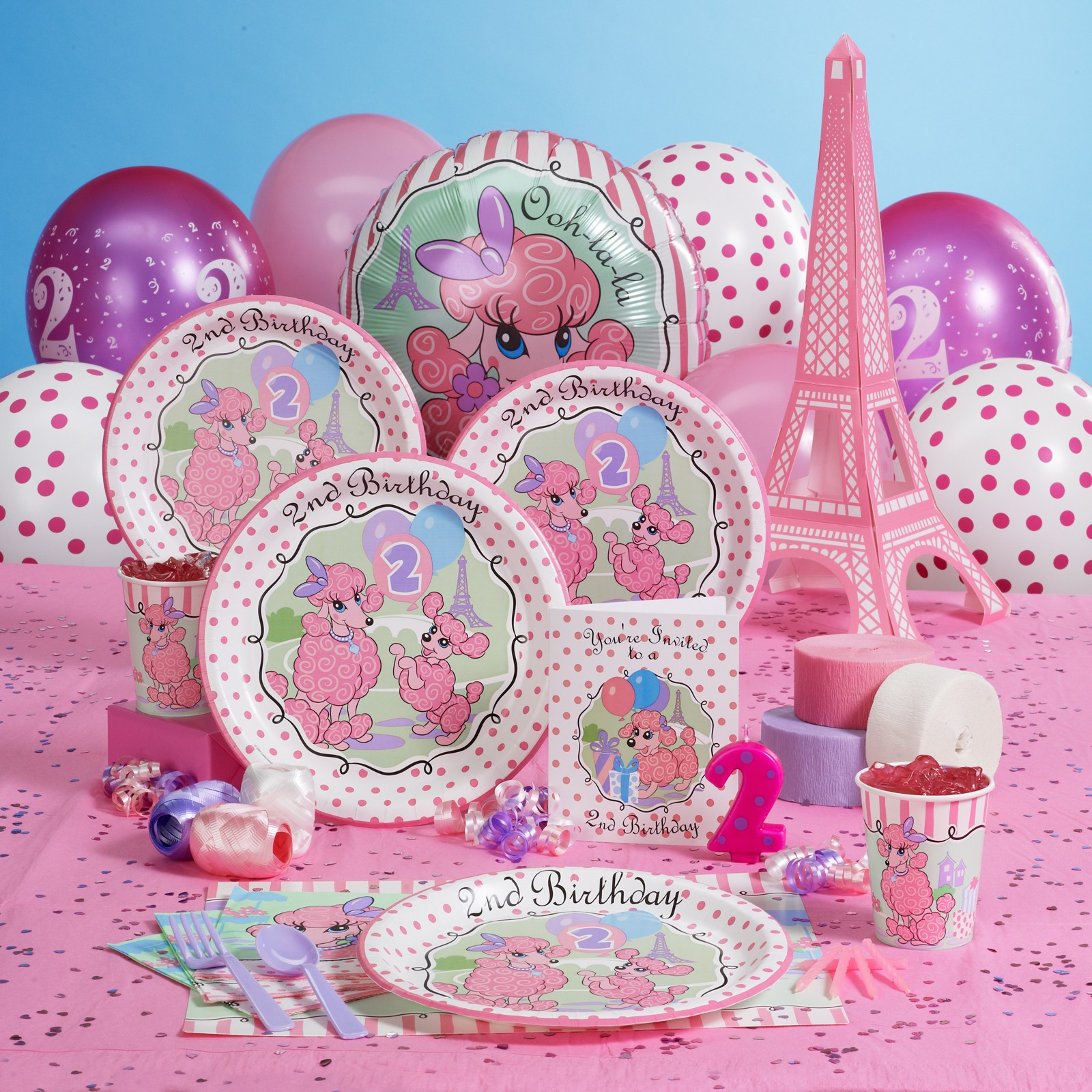 Toddler Birthday Party Themes Little Girls Theme