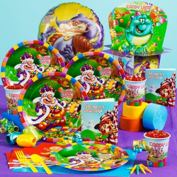 toddler birthday party themes ; toddler-birthday-parties-candyland