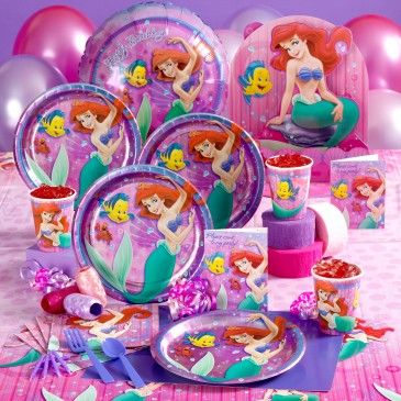 toddler birthday party themes ; toddler-birthday-parties-little-mermaid