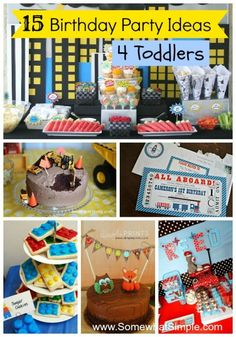 toddler birthday picture ideas ; 177754577907e51981603a7942d87aaf--toddler-birthday-parties--birthday
