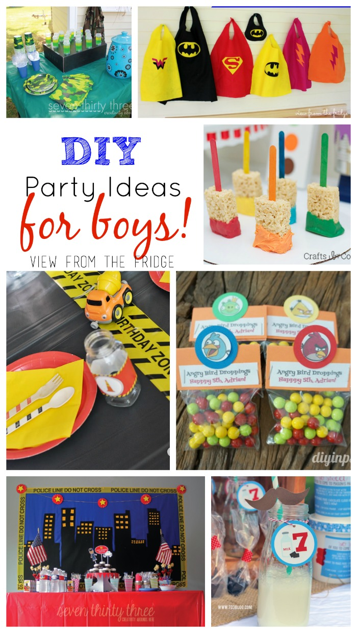 toddler birthday themes ; DIY_Party_Ideas_Boys