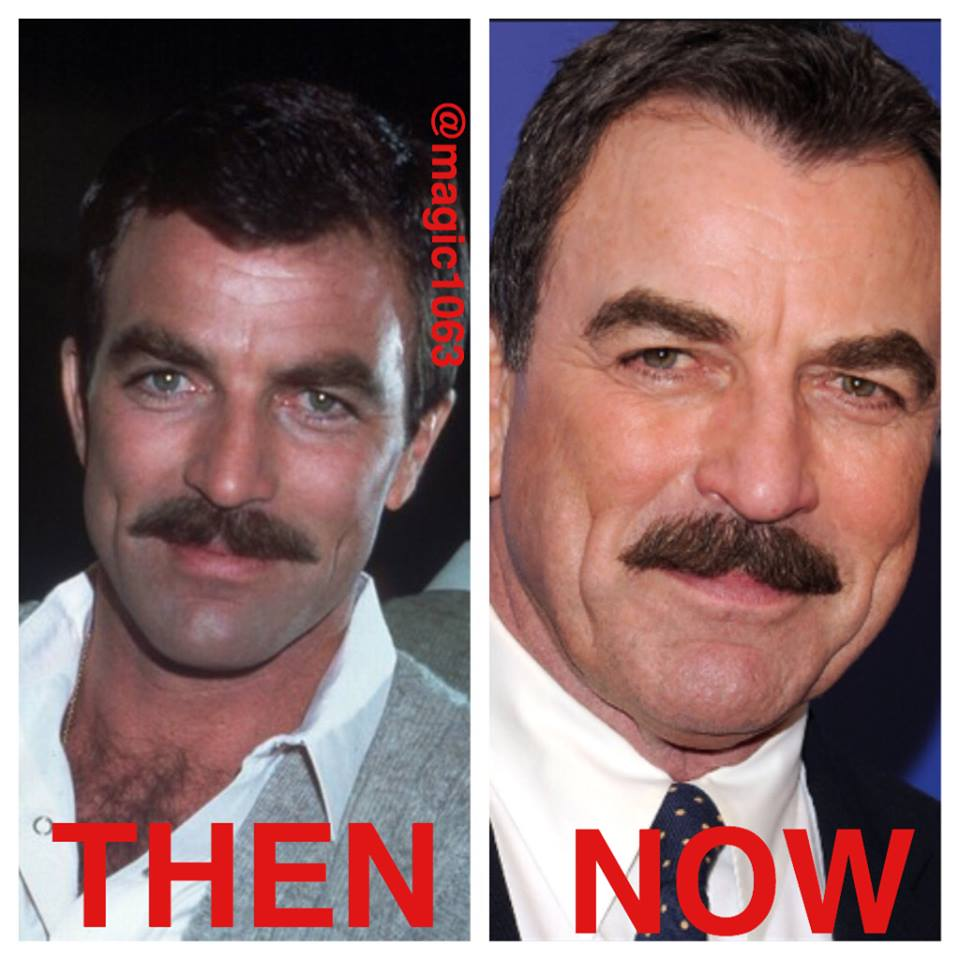 tom selleck happy birthday ; Tom-Selleck-Now-and-THEN