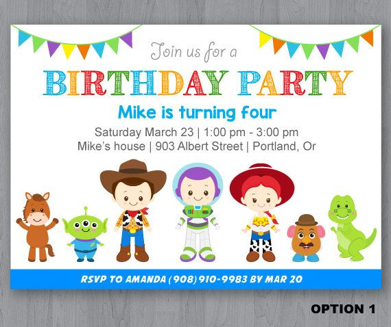 toy story birthday party invitation wording ; toy-story-birthday-invitations-with-astounding-invitations-for-resulting-an-extraordinary-outlook-of-your-Birthday-Invitation-Templates-20