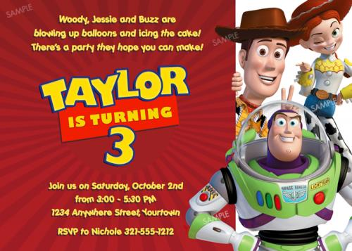 toy story photo birthday party invitations ; toy-story-birthday-party-invitations-is-the-newest-and-best-concepts-of-prepossessing-Party-invitations-7