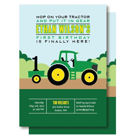 tractor birthday invitation templates ; tractor-birthday-invitations-for-the-invitations-design-of-your-inspiration-Birthday-Invitation-Templates-party-19