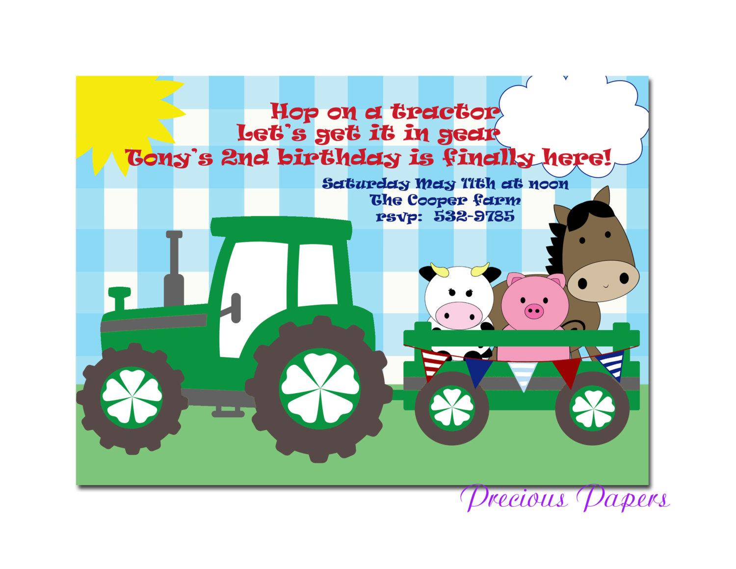 tractor birthday invitation templates ; tractor-birthday-invitations-together-with-a-picturesque-view-of-your-Birthday-Invitation-Templates-using-enchanting-invitations-14