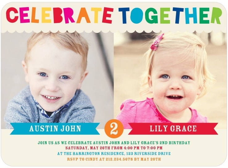 twin birthday invitations with photo ; Twin-birthday-invitations-and-get-inspired-to-create-your-own-birthday-invitation-design-with-this-ideas-3