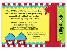 twins first birthday photo invitations ; thing-1-thing-2-dr-seuss-cupcakes-twins-first-birthday-invitation-1