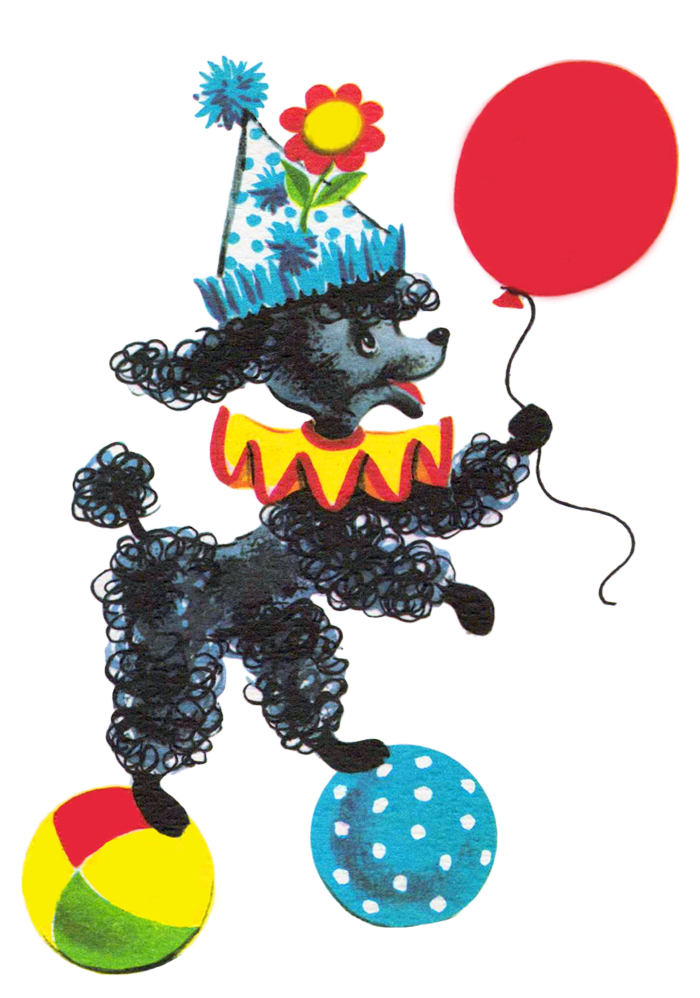 vintage birthday clipart ; free+vintage+clipart+Vintage+poodle+from+FPTFY