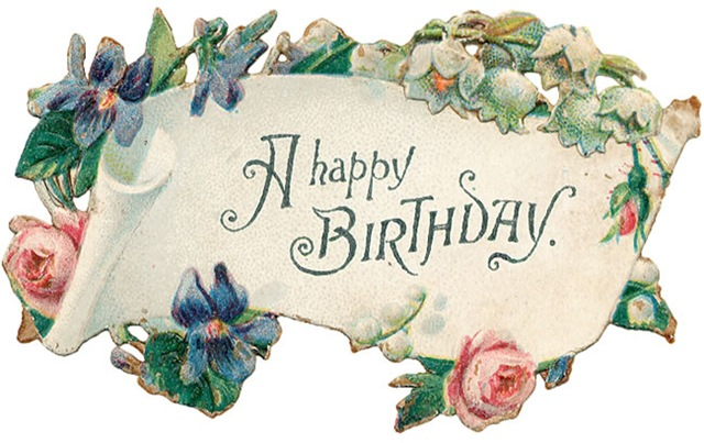 vintage birthday clipart ; free-vintage-birthday-card-scroll-with-pink-roses-and-blue-flowers