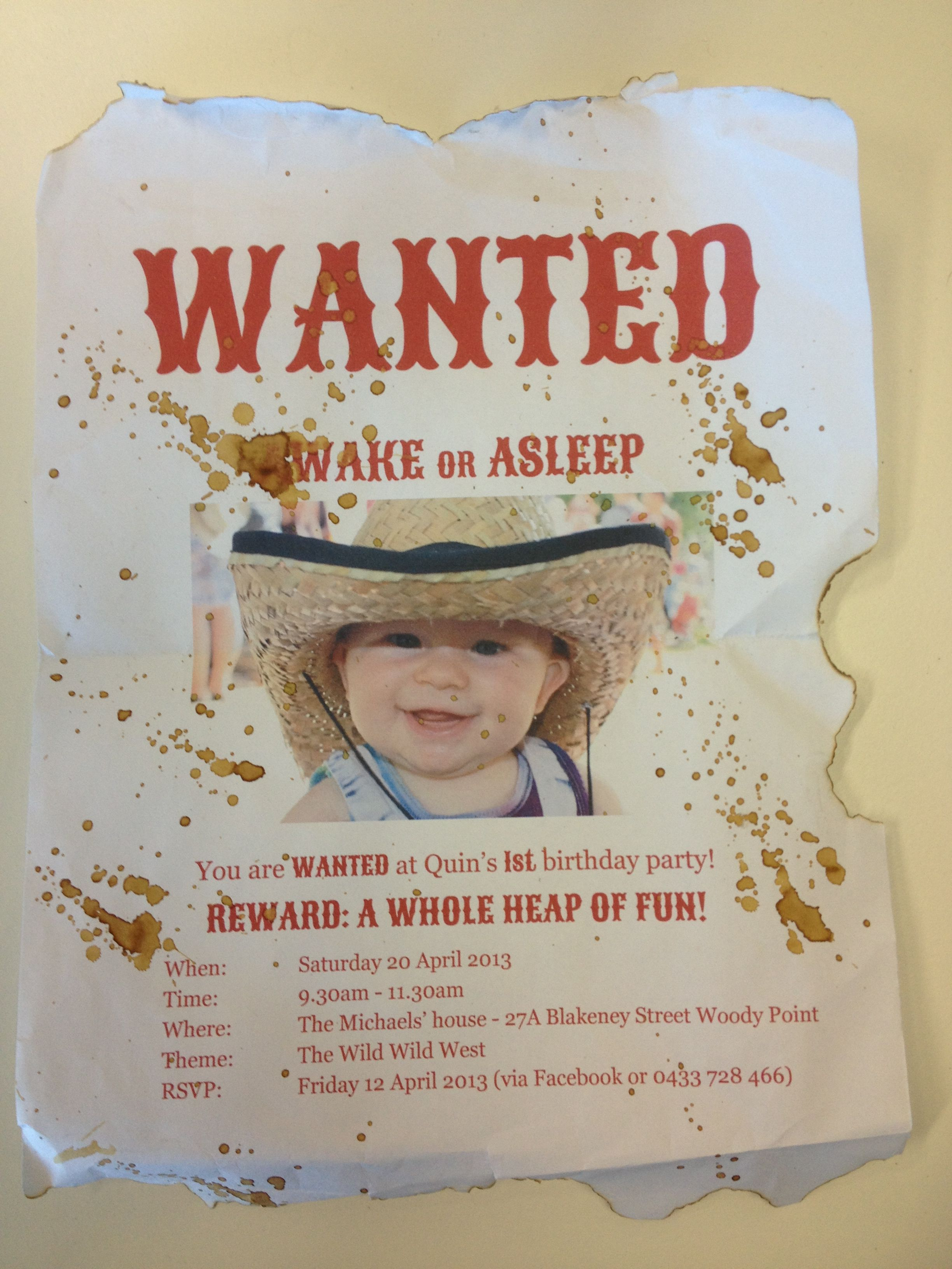 wanted birthday invitation template ; most-wanted-birthday-invitations