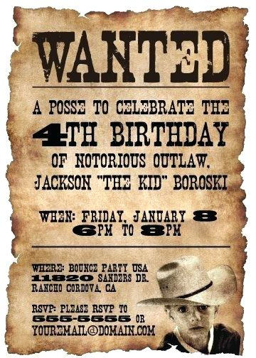 wanted birthday invitation template ; western-birthday-invitations-western-cowboy-birthday-party-invitation-on-a-wanted-poster-cowboy-birthday-invitation-sayings