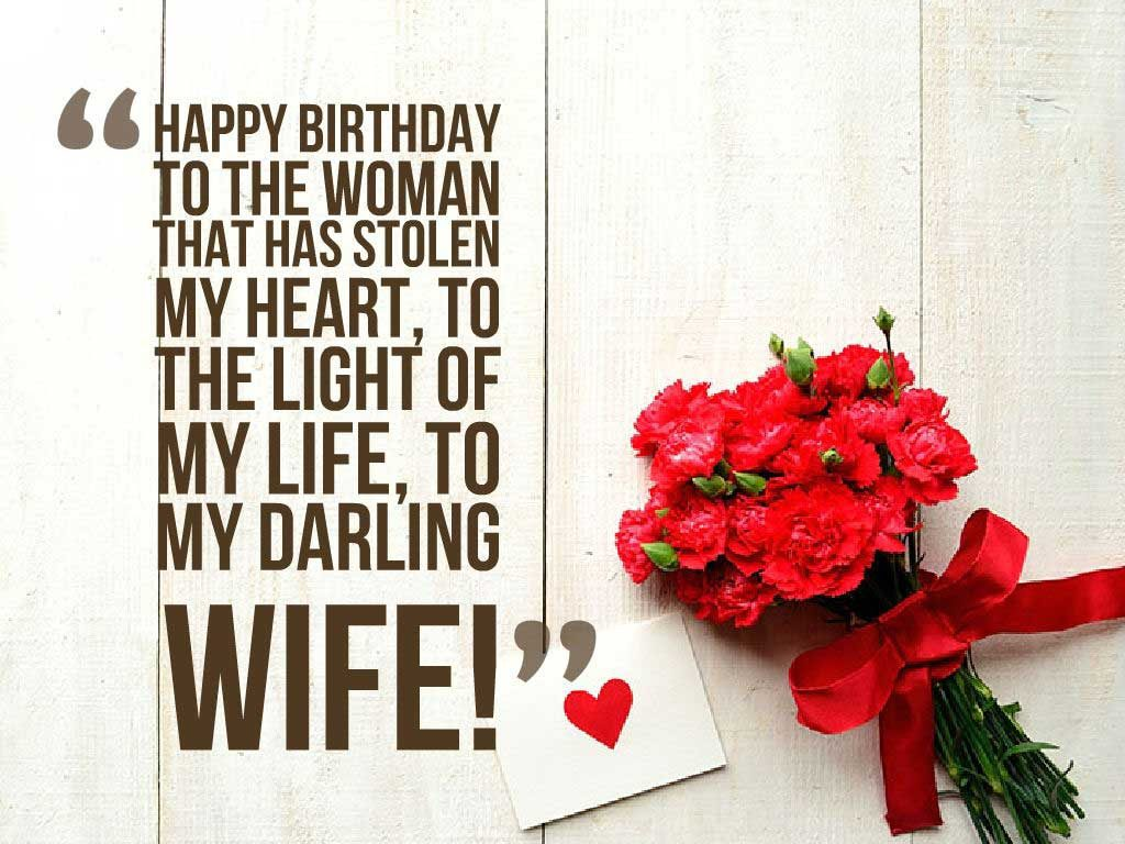wife birthday card message ; Romantic-Birthday-Wishes-for-Wife-1024x768