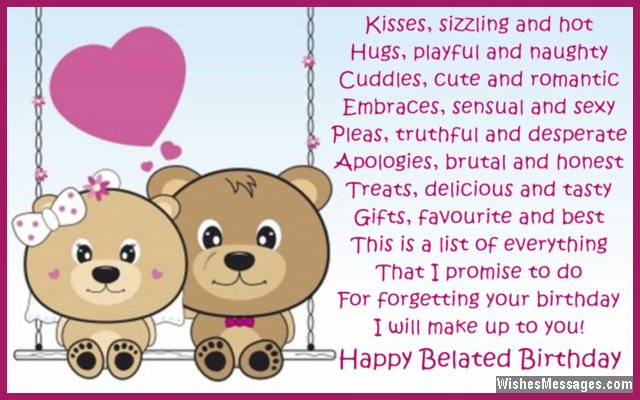 wife birthday card message ; belated-birthday-poems-for-husband-late-birthday-wishes-for-him-rustic-birthday-card-messages-for-wife