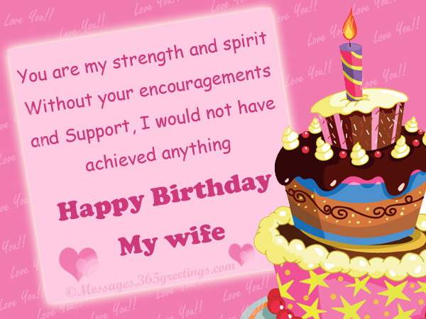 wife birthday card message ; sweet-birthday-wishes-for-wife