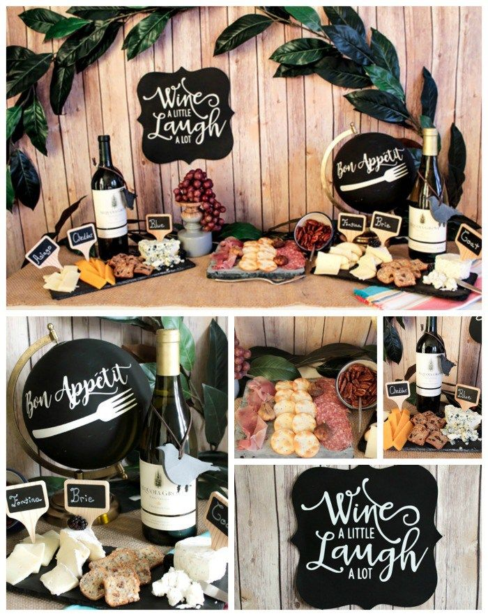 wine themed birthday ; wine-themed-birthday-party-decorations_158421