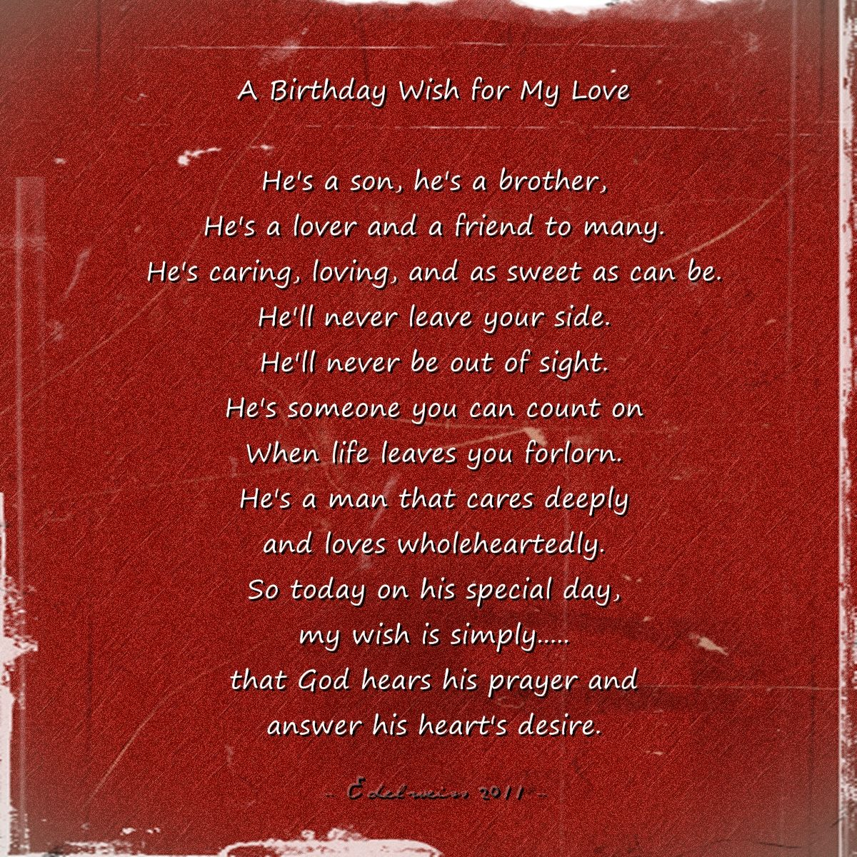 wish him happy birthday from my side ; a39e1303d5726a1387bd7e2f15309408