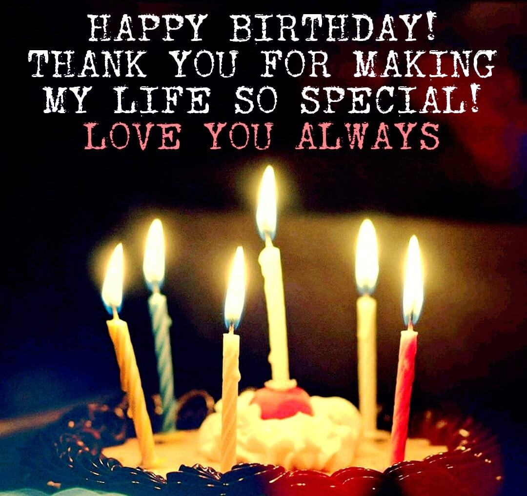 wish him happy birthday from my side ; romantic-birthday-wishes-for-him-1