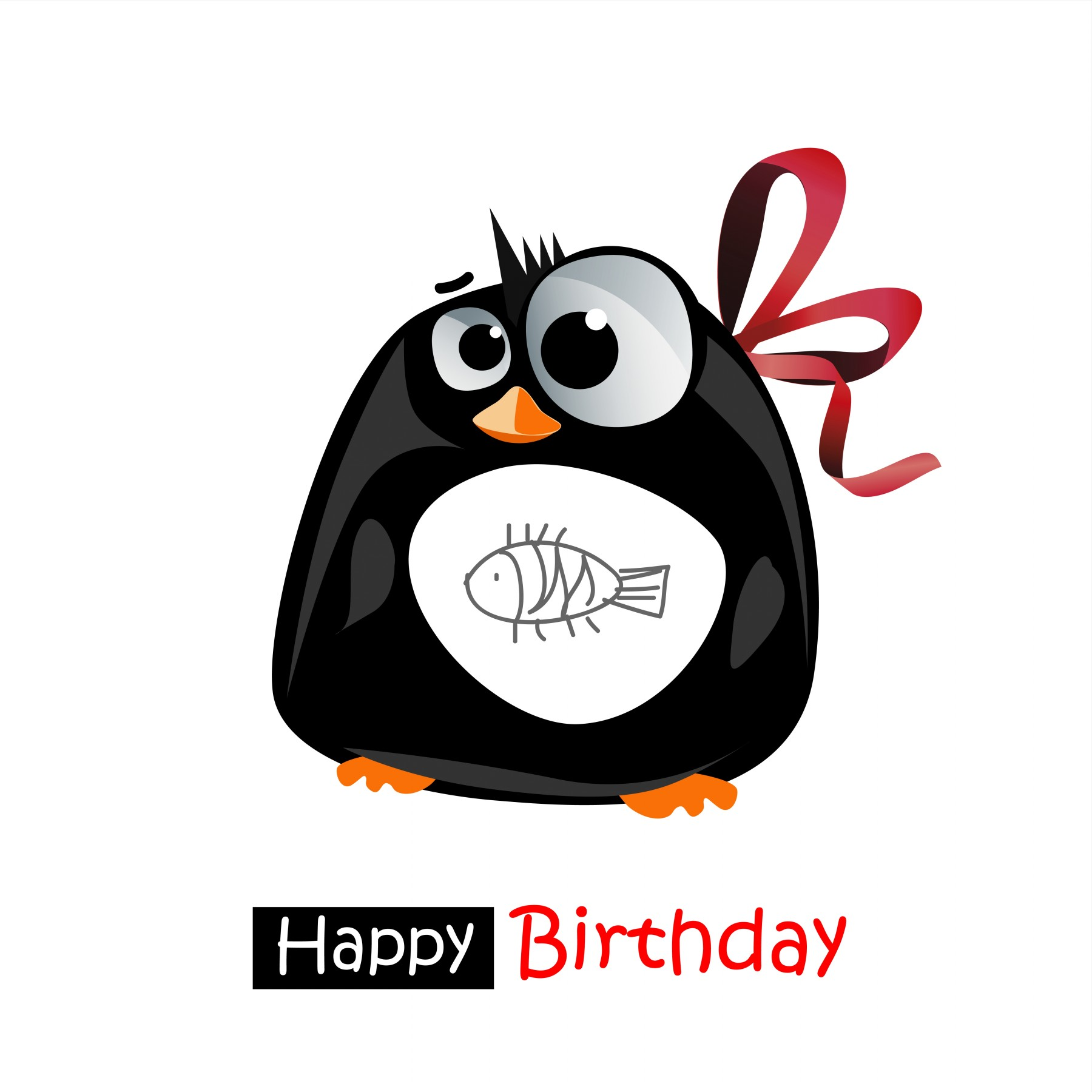 wish you a very happy and prosperous birthday ; Happy-Birthday-smile-penguin-gift