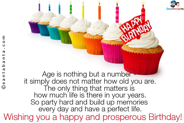wish you a very happy and prosperous birthday ; sms-11356