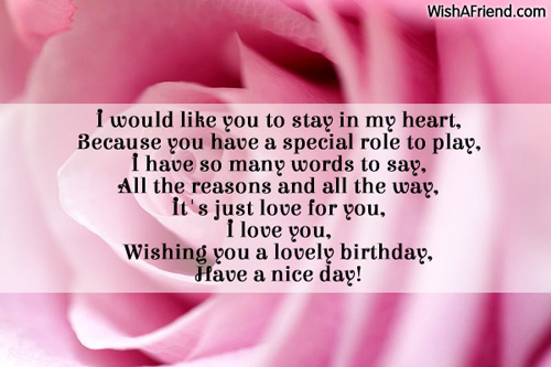 would like to wish you a happy birthday ; 8889-love-birthday-messages