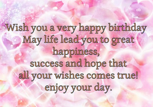 would like to wish you a happy birthday ; Wish_You_Happy_Birthday_with_Birthday_Message7