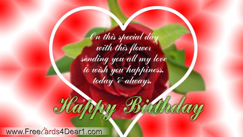 would like to wish you a happy birthday ; happy-birthday-greeting-ecard-for-love