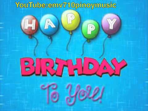 youtube happy birthday to you ; hqdefault