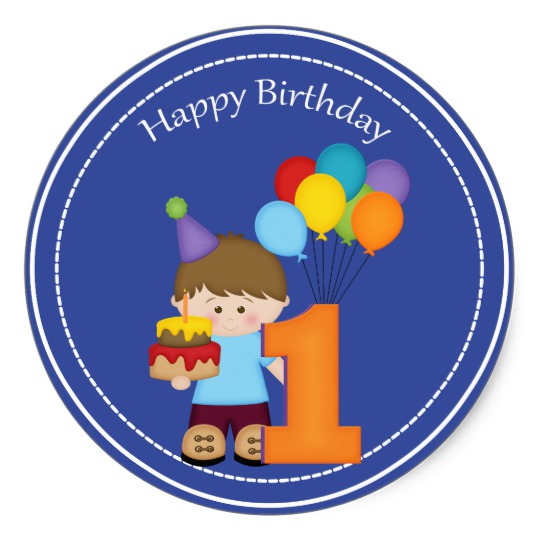 zazzle birthday stickers ; 1_year_old_boys_happy_birthday_sticker-r9ef5b4bc11dd4fc0b6ad4adc39f5d3e8_v9wth_8byvr_540