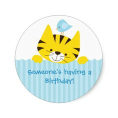 zazzle birthday stickers ; be8c19e72fba5e2b355fe2f0af59a599--stickers-online-the-button