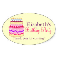 zazzle birthday stickers ; cute_happy_birthday_cake_personalized_oval_sticker-rb0fba87f23f349fe8ef50ee17aaddac6_v9wz7_8byvr_200