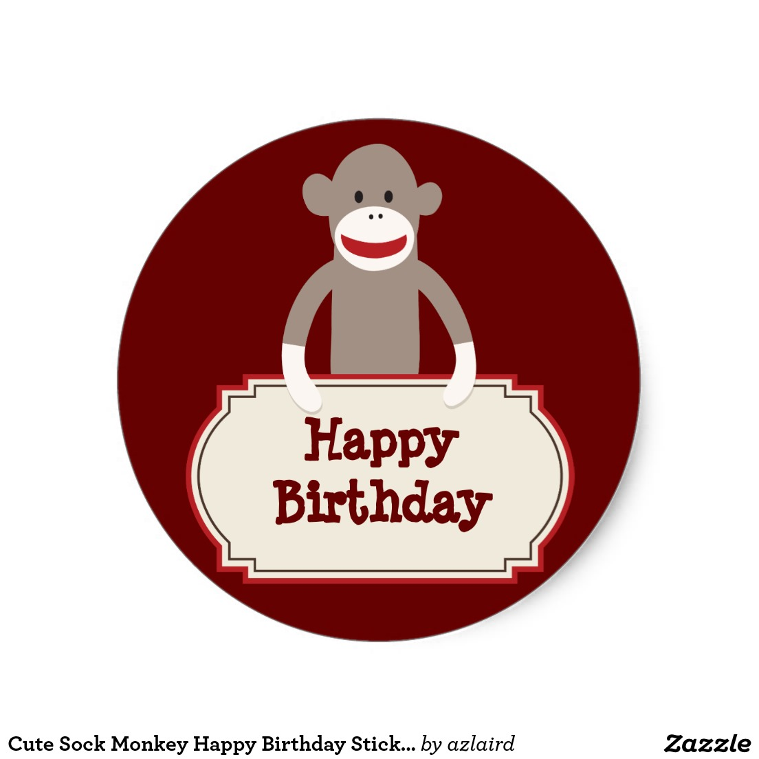 zazzle birthday stickers ; ef3733004501cab1a2822c4dcec662ee