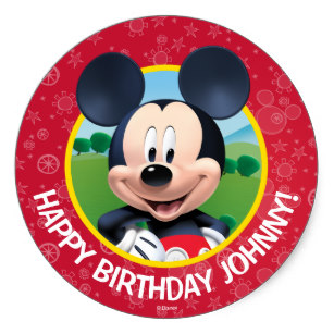 zazzle birthday stickers ; mickey_mouse_birthday_classic_round_sticker-r83b3a1c4688f44e789380c4c227b1e98_v9wth_8byvr_307