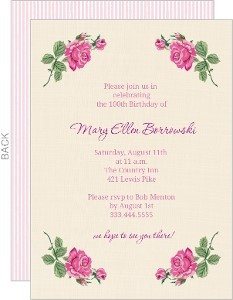 100th Birthday Invitation Ideas Breathtaking 100Th Invitations Which Can