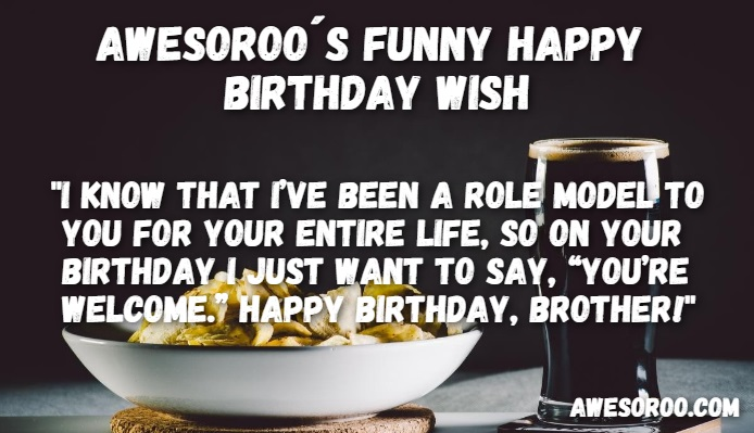 14 year old birthday card sayings ; Funny-BD-wish-for-brother