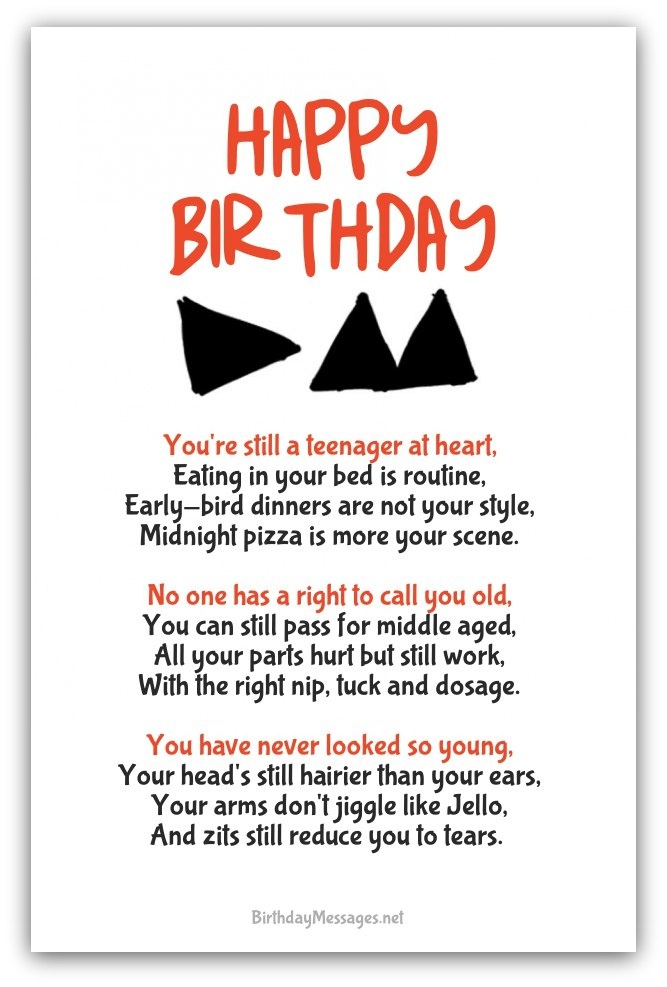 14 year old birthday card sayings ; funny-birthday-poems2A