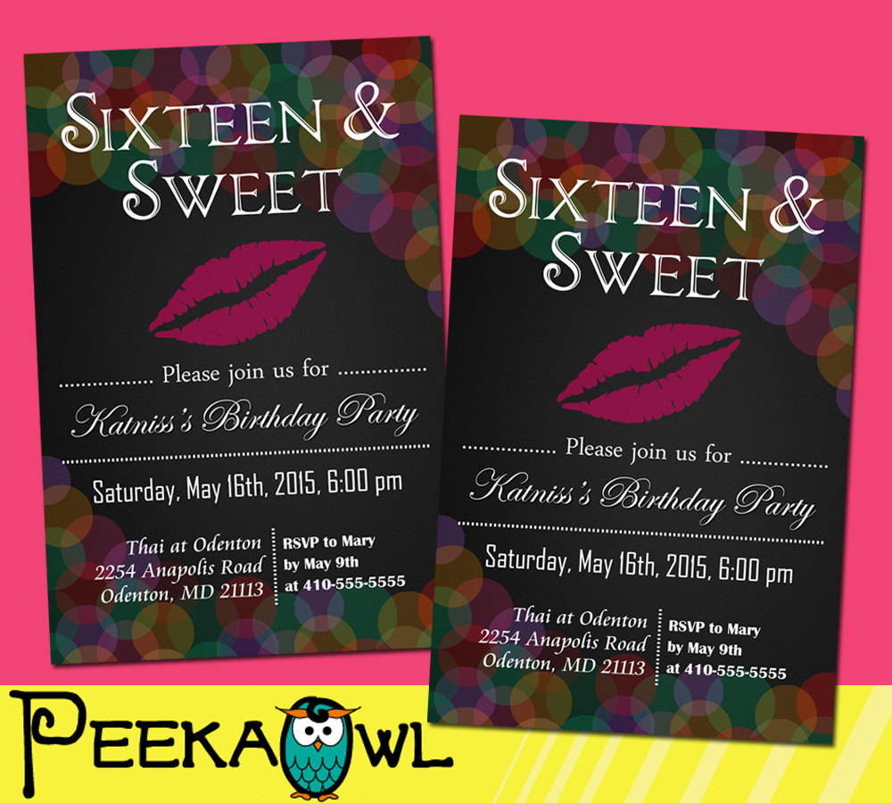 16 birthday party invitation cards ; Lovely-Invitations-For-Sweet-16-Birthday-57-for-Your-Card-Picture-Images-with-Invitations-For-Sweet-16-Birthday