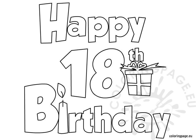 18th birthday coloring pages ; 18th-birthday-coloring-pages-happy-18-birthday-coloring-page-download