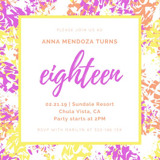 18th birthday invitation maker ; 18th-birthday-invitations-with-beauteous-invitations-for-resulting-an-extraordinary-outlook-of-your-Birthday-Invitation-Templates-6