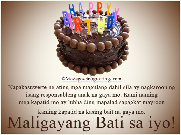 18th birthday message for best friend tagalog ; collection-of-birthday-greetings-in-tagalog-for-sister