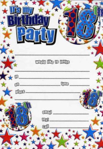18th birthday party invitations free ; Excellent-18Th-Birthday-Party-Invitations-Which-You-Need-To-Make-Free-Printable-Birthday-Invitations