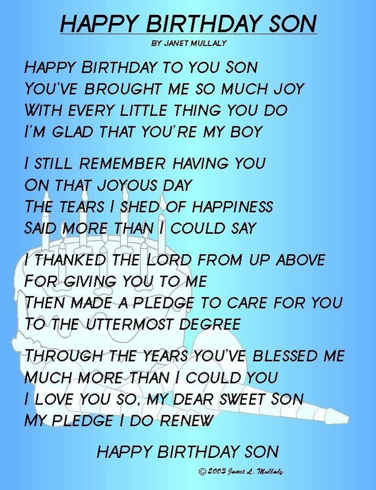 18th birthday poem for son from mother ; 17-best-ideas-about-happy-birthday-son-on-pinterest-happy-76646